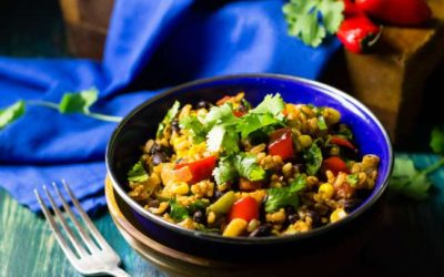 Mexican Fiesta Rice Bowl