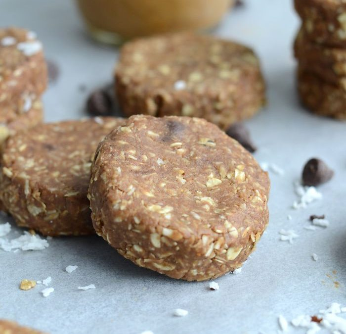 No Bake Chocolate Coconut Cookies